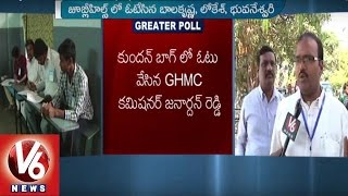 nether polling in kphb 7 phase   kukatpally division   ghmc elections   v6 news