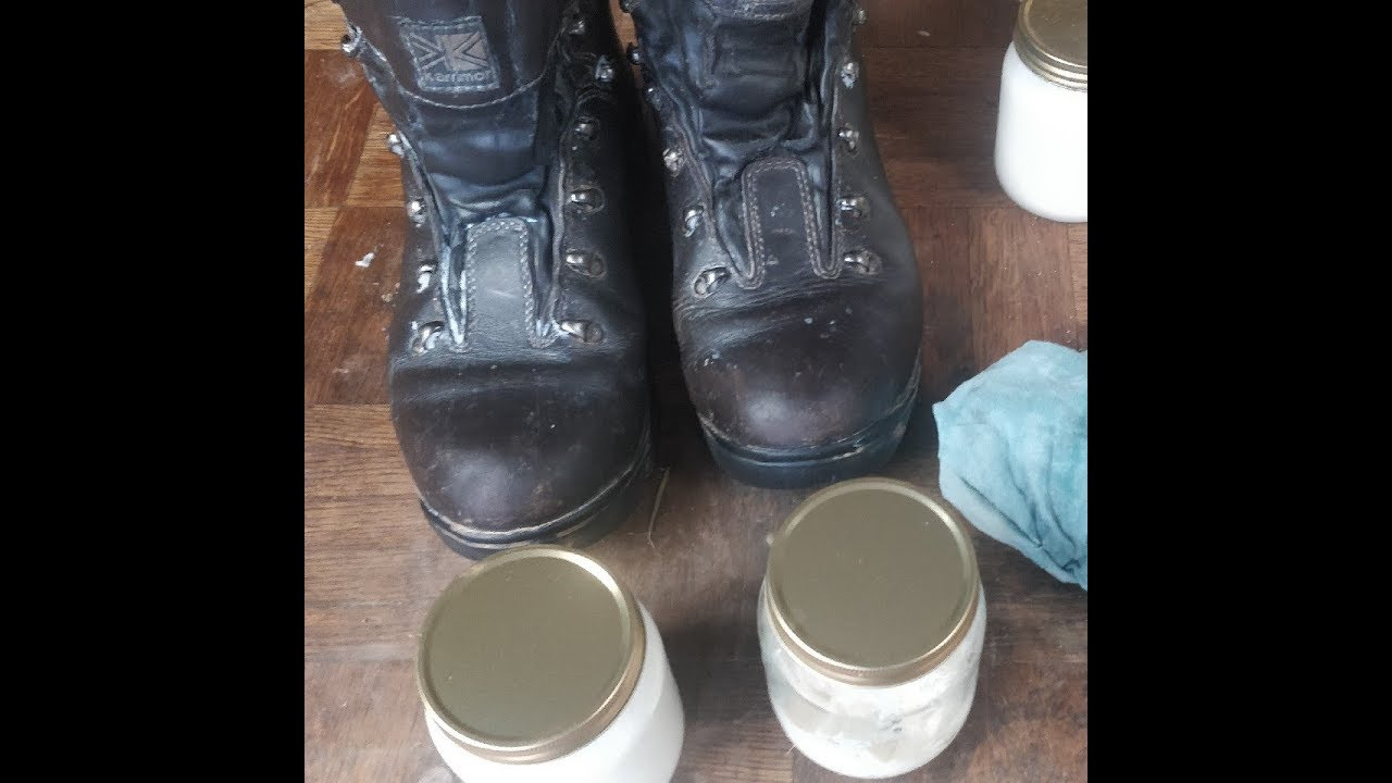 Natural Waterproofing Leather Boot Balm