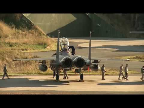 American and European Fighter Jets - AFTERBURNERS IN ACTION - F-18, Saab JAS 39 Gripen, F-16, F-15