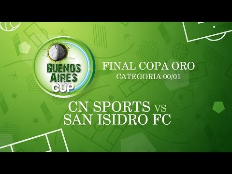 EN VIVO - CN SPORTS vs SAN ISIDRO FC- CAT. 00-01 - FINAL COPA ORO