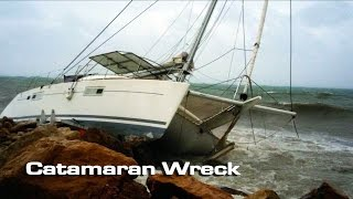 The Wreck of a Catamaran