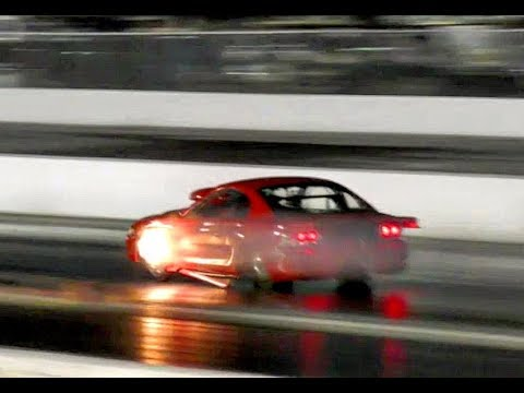 Mustang Mike puts small tires and the results are outstanding!! at the Memphis Street Outlaws