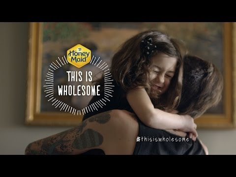 Honey Maid: This is Wholesome :30 TV Commercial   Official