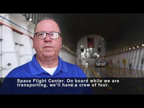Meet the Crew of NASA's Barge Pegasus