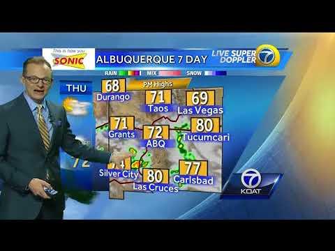 Byron Morton's Thursday Weather Forecast