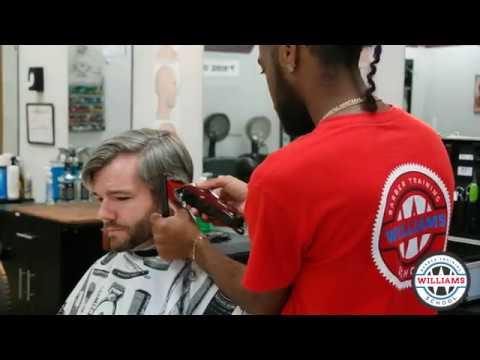 Williams Barber Training School Greenville Sc Youtube