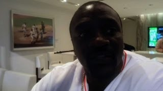 Akon on the best part of being a musician