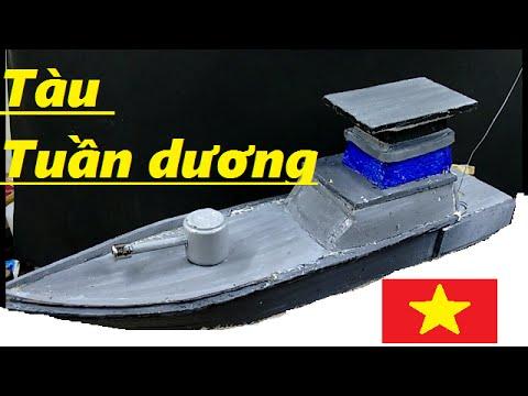 Hướng dẫn làm thuyền chiến điều khiển từ xa - đô chơi -