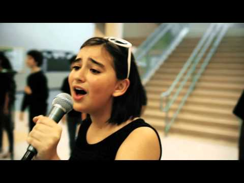 White Station Middle School Spartones- Macy's I Want You Back A Cappella Challenge
