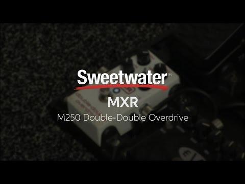 Summer NAMM 2016: MXR M250 Double-Double Overdrive