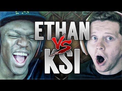 ETHAN VS JJ!