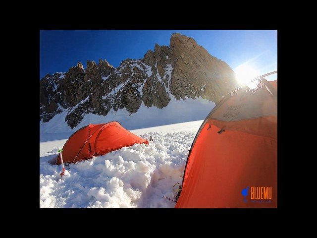 bivouac in Alps