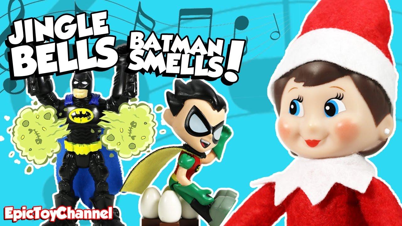 jingle bells batman smells robin laid an egg