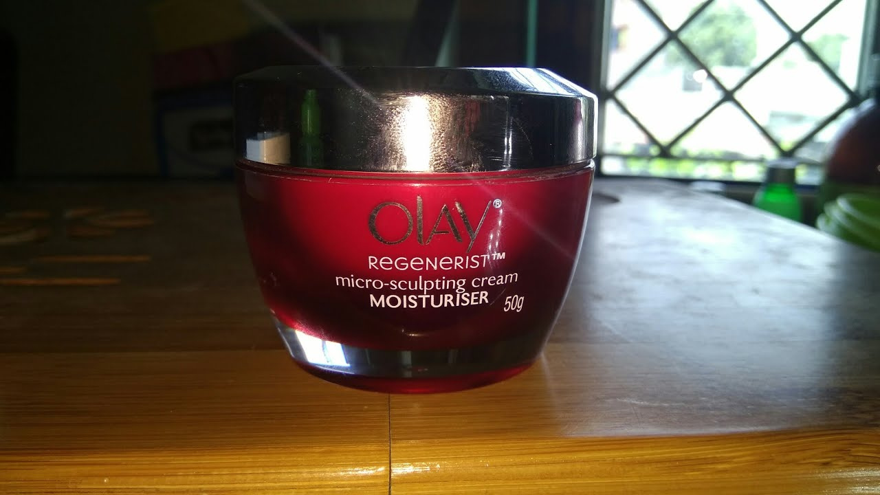 d8f5cde7b04 OLAY REGENERIST micro-sculpting cream MOISTURISER review