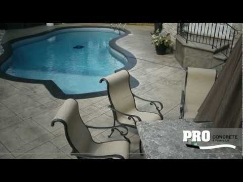 PRO Concrete - Creating Beautiful Concrete in Oakville, Mississauga and Burlington