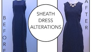 How to add darts on a Dress   Alterations