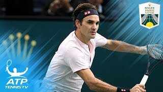Djokovic, Federer Set Semi Clash; Thiem Qualifies for London   Paris 2018 Quarter-Final Highlights