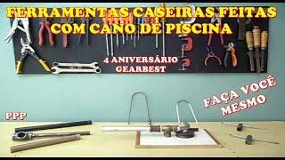PROMOÇÃO GEARBEST 4 ANIVERSÁRIO, COMO FAZER FACIL FERRAMENTAS CASEIRO, CASEIRO COM CANO DE PISCINA