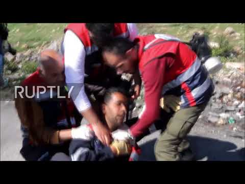 State of Palestine: Protesters clash with Israeli forces over student president arrest