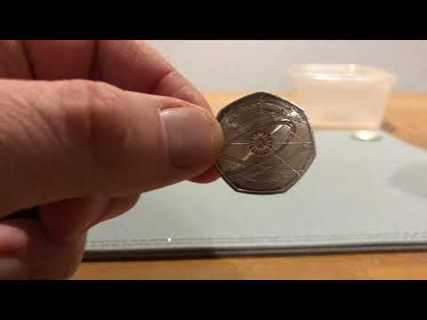 Coin Roll Hunt for Kew Gardens 50p 11/01/2018
