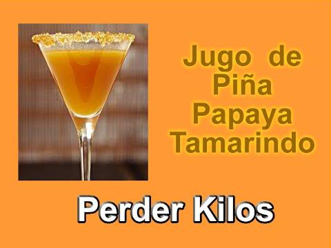 Piña para bajar de peso papaya