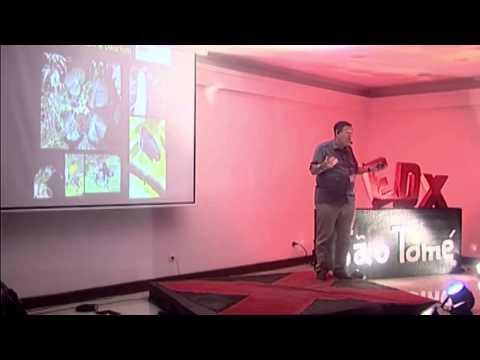 Island biodiversity race: Dr. Robert Drewes at TEDxSãoTomé