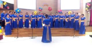 Gereja bagai bahtera- PS Pelangi Kasih GKI KW