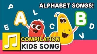 ALPHABET SONGS! | 30MIN | LARVA KIDS | LEARN TO ALPHABET | SUPER BEST SONGS FOR KIDS