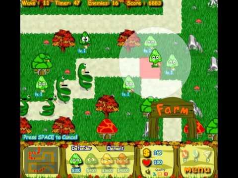 Mushroom Farm Defender - YouTube