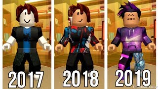 Roblox - Meine Avatar-Evolution (2017-2019)