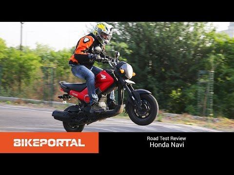 Honda Navi - Test Ride Review - Bikeportal