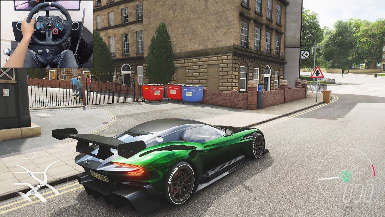 Aston Martin Vulcan - Forza Horizon 4 | Logitech g29 gameplay thumbnail