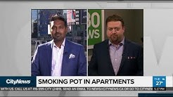 Renters, landlords & attitudes about smoking pots indoors