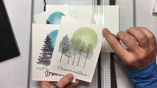 StArt - Sympathy Card using Winter Woods, Kindness & Compassion stamp sets