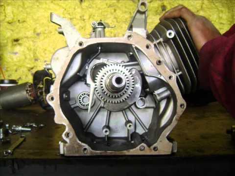 Motor Honda De Un Cilindro De Un Generador Evans 8500
