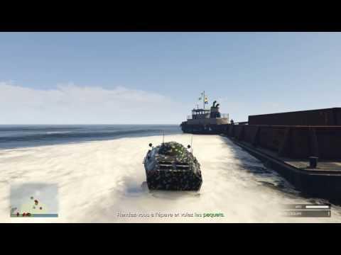 Mission bunker 4 : à l'abordage GTA 5 online trafic d'arme