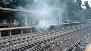 Train Station On Fire