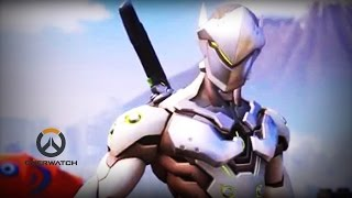 ♥ Overwatch (Gameplay) - Genji The Offensive Ninja