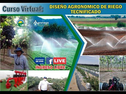 DISEÑO AGRONÓMICO DE RIEGO TECNIFICADO thumbnail