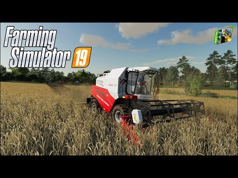 Farming Simulator 19 - Рассвет - 11 - Продолжение первой уборочной