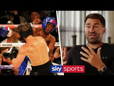 Eddie Hearn explains why he's changed his mind on KSI vs Logan Paul 2