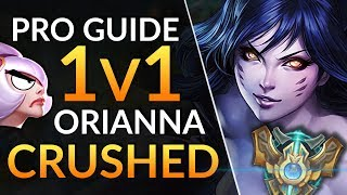 AHRI-GOD DESTROYS ORIANNA at Challenger - Tips to Carry from Mid   LoL Guide