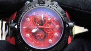 Обзор мужских наручных часов Invicta Subaqua Noma IV Chronograph 11810