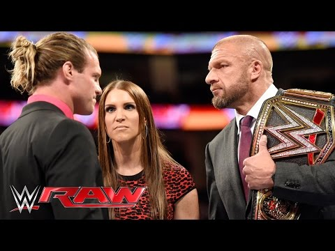 Dolph Ziggler takes a stand against The Authority: Raw, March 14, 2016