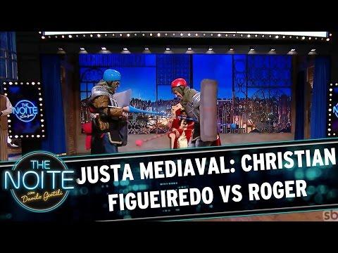 The Noite faz Justa Medieval entre Christian Figueiredo e Róger  | The Noite (24/03/17)