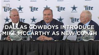 Dallas Cowboys introduce Mike McCarthy as new head coach