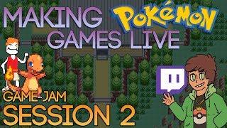 Making Pokemon Games Live (Game Jam Session 2)