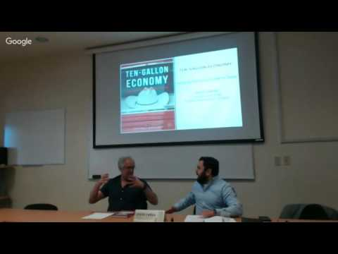 Plática con Jesús Cañas, Business Economist. Federal Reserve Bank of Dallas. 22 de Junio de 2016