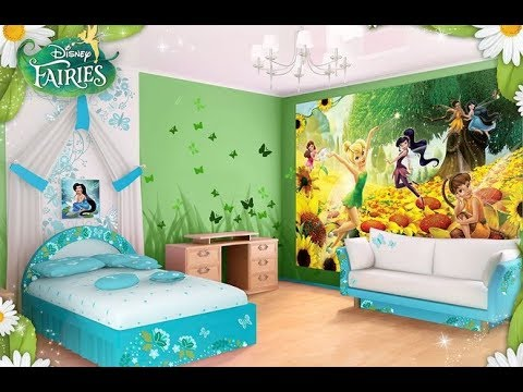 Top 40 Tinkerbell Bedroom Design Ideas Tour 2018 Cute Decorating For S Room On A Budget Easy