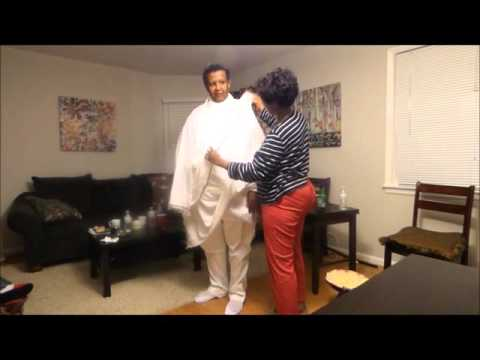 "How to Dress Ethiopian National "" Netela""የሐበሻ ነጠላ አደራረግ"